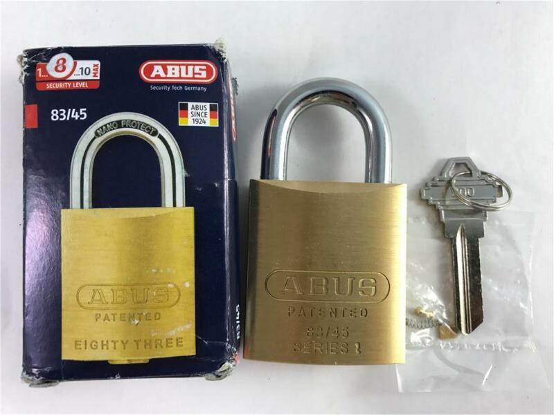 NEW Abus 83/45 300 Brass Lock Padlock Rekeyable