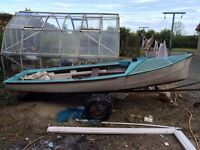 Small sailing boat, in need off TLC