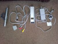 Wii spare power pack and cables.