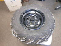 1 New Carlisle A-c-t 25x8r-12 Tires 25812 25 8 12