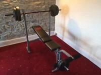 Pro Power 30kg Weight Bench
