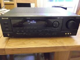 Sherwood RVD-6090RDS 5.1 audio/video receiver - 60 watts/ch stereo mode, 5X65 watts/ch in 5.1 mode