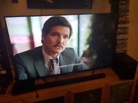 "Almost new LG 55"" Smart 3D TV + Philips soundbar with subwoofer + 3D glasses + magic remote!"