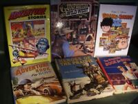 Childrens Books and Annuals - 18 Books Many Rare and Unusual Collectable Books
