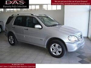 2005 Mercedes-Benz M-Class ML350 ELIGANCE LEATHER/SUNROOF