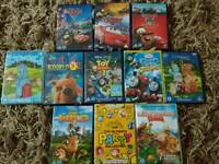 Boys DVD Bundle - NIGHT GARDEN Toy Story CARS Ideal age 2-4 years
