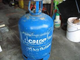 Blue calor gas bottle 15 Kg (empty)