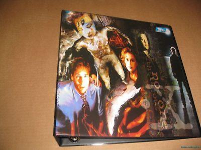 X-Files Trading Card Binder Album Topps X-files Trading Card