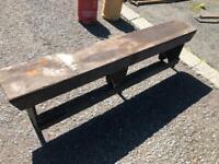 Old school bench