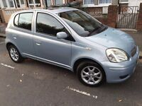 TOYOTA YARIS 2005 LOW MILEAGE 62552 EXCELLENT CONDITION FAMILY USED 5 DOOR HATCHBACK