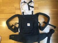 Ergobaby baby carrier (Black/Camel) - Great condition!