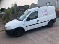 Combo van with roof rack and tow bar, MOT until december