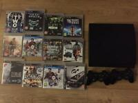 PlayStation 3 console controller and games GTA 5