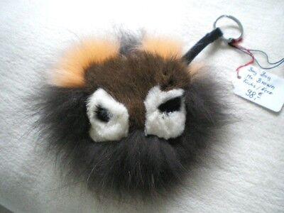 lz Fell Bommel Bag Bugs Monster Keychain Charm ,Fellanhänger (Monster Pelz Fell)