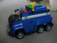 Paw Patrol Chase Police vehicles