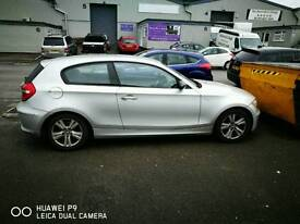 Bmw 118d, 3dr in silver