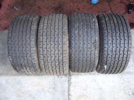Classic F3 Show Car Tyres - Unused Avon Formula 3000 Wets
