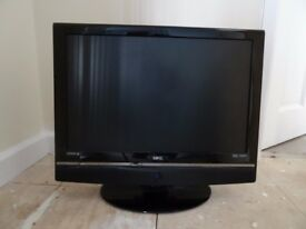 22 inch flat screen TV with DVD built in