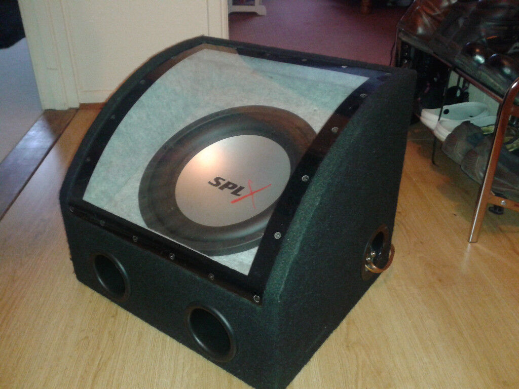 """SPL X 10"""" car Subwoofer with Sony XM-5520 2/1 Channel apm"""