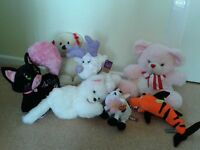 7 Unused Soft Toys