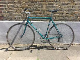 "Vintage Emerald Peugeot Bike 57cm 22.5"" 1975/6 AO 8 Simplex Mafac Mavic Eroica"