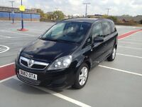 2012 VAUXHALL ZAFIRA LOW MILES 12 MONTH MOT TAX EXCELLENT CONDITION