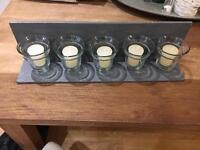 Decorative Candle Shelf