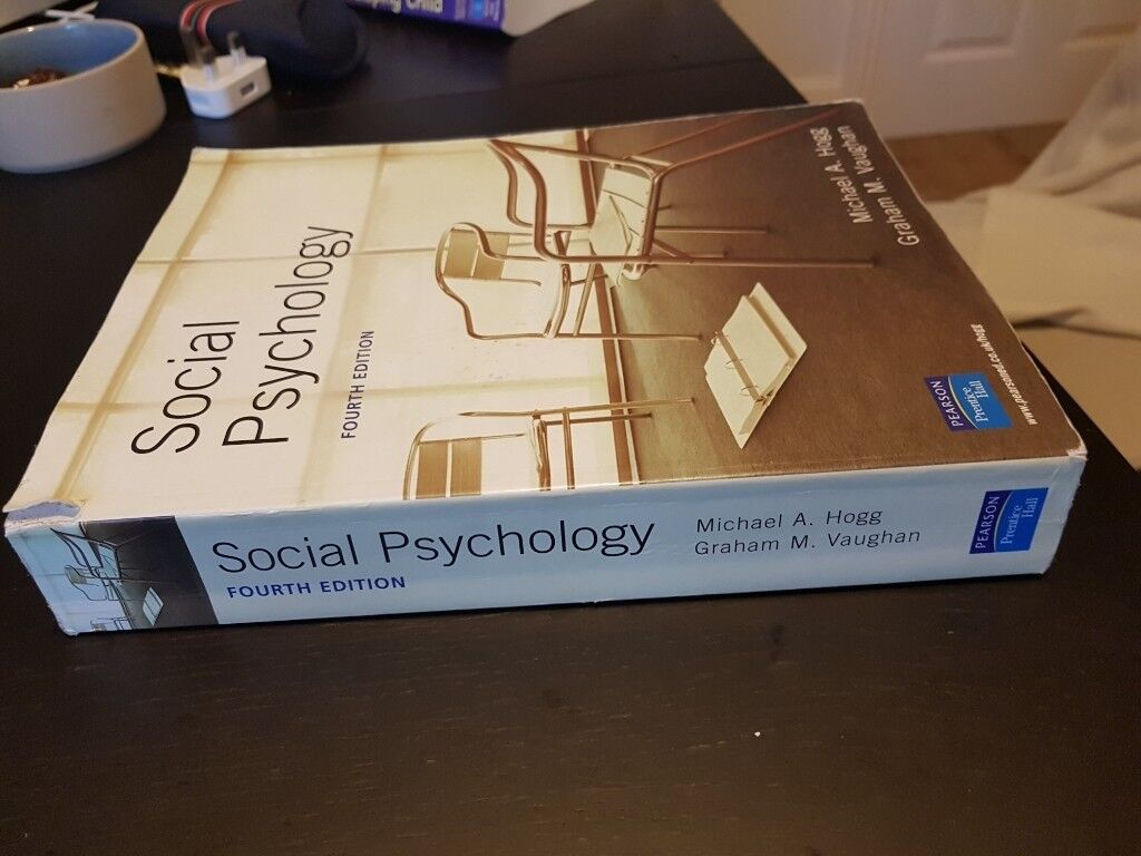 Social psychology hogg and vaughan 4th edition good condition social psychology hogg and vaughan 4th edition good condition fandeluxe Gallery