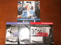 That was the year DVDs - 1970 and 1977 and Thatcher DVD