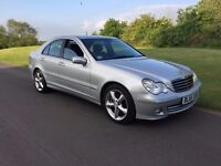 2006 Mercedes C Class Automatic C200 CDI Avantgarde Facelift Diesel Cat C £2,495