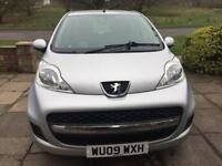 PEUGEOT 107 1.0 2009 41K **FULL YEAR MOT** £20 YEARLY ROADTAX** FULL SERVICE HISTORY**