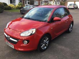 Vauxhall Adam 2014, 1229cc, low 9400 miles in red with 2keys and service book