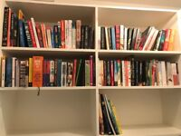 Books - novels, and general reference