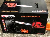 GTS Tools 2200/52cc Petrol Chain Saw - New original unopened box
