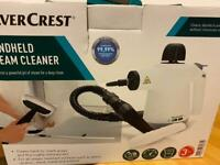 Silver crest handheld steam cleaner eliminates 99.99%of household bacteria.