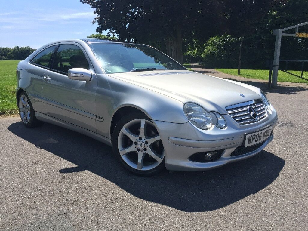 mercedes benz c class c180 kompressor sport edition aluminium silver 2006 in portsmouth. Black Bedroom Furniture Sets. Home Design Ideas