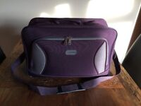 Brand New 5 Cities Fabric Carry On Cabin Bag For Ryanair, Easyjet Etc