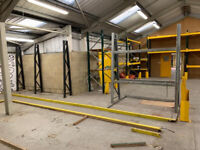 Industrial Warehouse retail racks and shelving