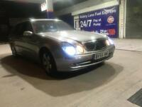 Mercedes E280 CDI Avantgarde AUTO - 2005 - MOT&TAX - not Bmw Audi Seat skoda Lexus Mondeo opel ford