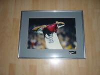 BANG GOES THE NIL NIL DRAW. FRAMED NIKE ADVERTISING. FOOTBALL DIVISION. FOOTBALL MEMORABILIA.