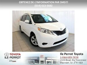 2013 Toyota Sienna LE, 8 PASSAGERS,CAM RECUL, A/C, BLUETOOTH