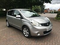 Nissan Note 1.5 dCi N-TEC 5dr in Silver 2009