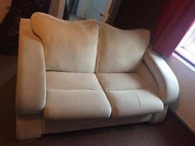 2x2 seater sofas.