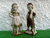 Vintage Figures of Boy and Girl