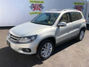 2014 Volkswagen Tiguan Trendline, Auto, Leather, Panoramic Sunro