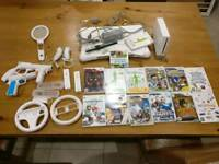 Wii with wii fit, games and accessories full working order no box