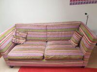Awesome Comfy Bright Funky Sofa £99 ONO