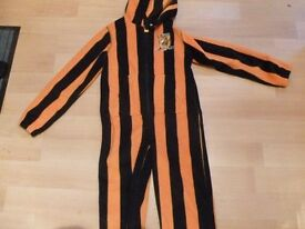 HULL CITY ONESIE NEW CONDITION SIZE ADULT MEDIUM