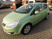 VAUXHALL CORSA Club AC 16V Automatic (green) 2009