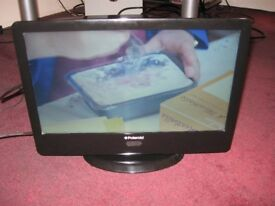 """Polaroid 15.6"""" LED TELEVISION suitable for Caravan or Car 12V with adapter"""